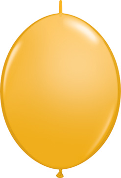 12 Inch Goldenrod Quick Link Latex Balloons 50pk