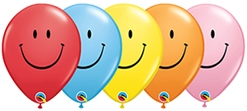 11 Inch Smile Face Latex 50pk