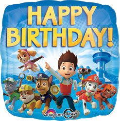 Std Birthday Paw Patrol Balloon