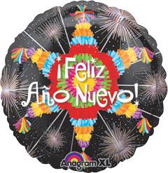 Std Feliz Ano Nuevo Pinata Balloon