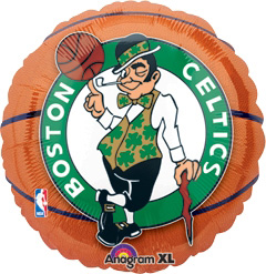 Std NBA Boston Celtics Balloon