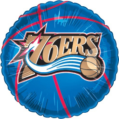 Std NBA Philadelphia 76ers Balloon