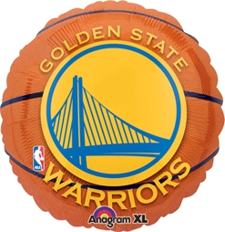 Std NBA Golden State Warriors Balloon