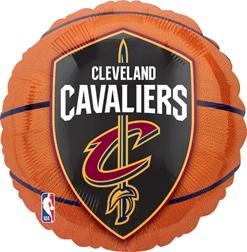 Std NBA Cleveland Cavaliers Balloon