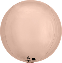 16 Inch Rose Gold Orbz Balloon