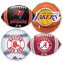 Foil Balloons for College & Pro Sports