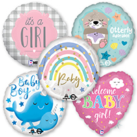 New Arrival & Baby Shower Balloons