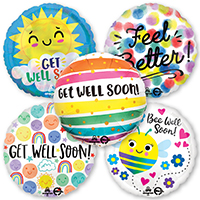 Get Well Foil & Mylar Balloons