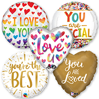 Love & Friendship Foil & Mylar Balloons